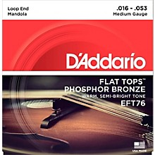 D'Addario EFT76 Flat Tops Medium Mandola Strings (16-53)