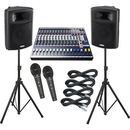 Soundcraft EFX12 / Harbinger APS15 PA Package