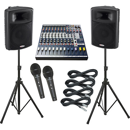Soundcraft EFX8 / Harbinger APS15 PA Package-thumbnail