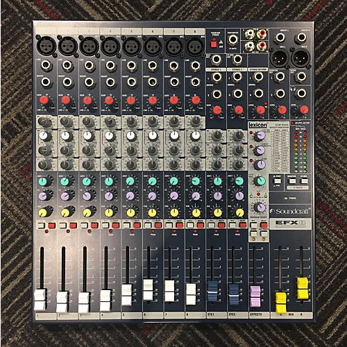 Soundcraft EFX8 Unpowered Mixer-thumbnail