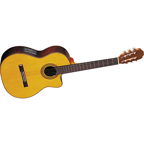Takamine EG522C Classical Cutaway Acoustic-Electric Guitar Natural