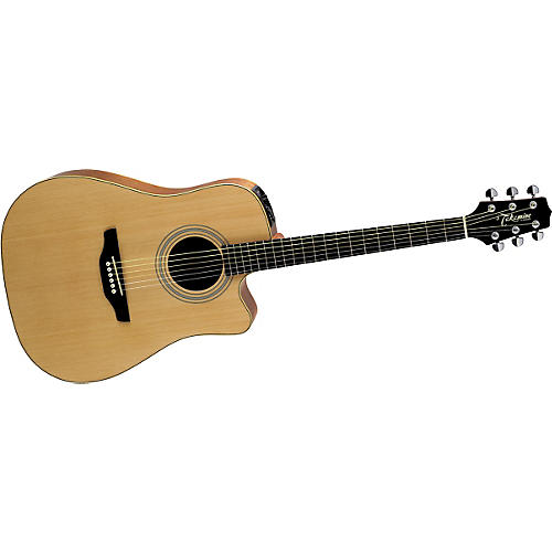 Takamine EGS-330SC Cutaway Acoustic-Electric Guitar Natural