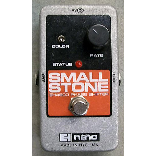 used electro harmonix eh4800 small stone nano phase shifter effect pedal guitar center. Black Bedroom Furniture Sets. Home Design Ideas