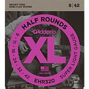 D'Addario EHR320 Half Round Super Light Electric Guitar Strings
