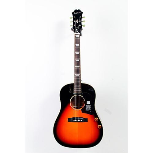 Epiphone EJ-160E John Lennon Acoustic-Electric Vintage Cherry Sunburst 888365243238