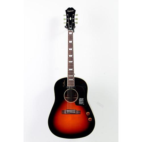 Epiphone EJ-160E John Lennon Acoustic-Electric Vintage Cherry Sunburst 888365241432