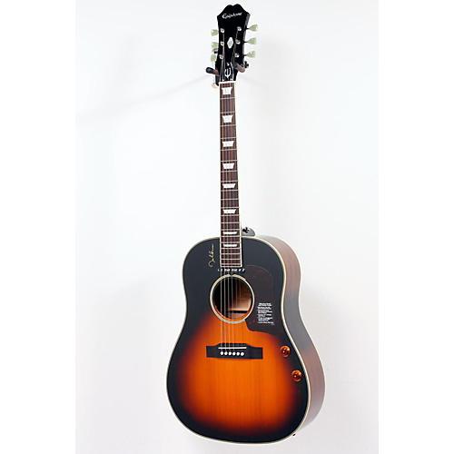 Epiphone EJ-160E John Lennon Acoustic-Electric Vintage Cherry Sunburst 888365066936