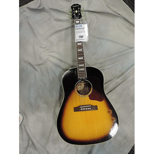Epiphone EJ160E John Lennon Signature Acoustic Electric Guitar-thumbnail