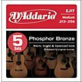 D'Addario EJ17-5P Phosphor Bronze Acoustic Guitar Strings Medium thumbnail