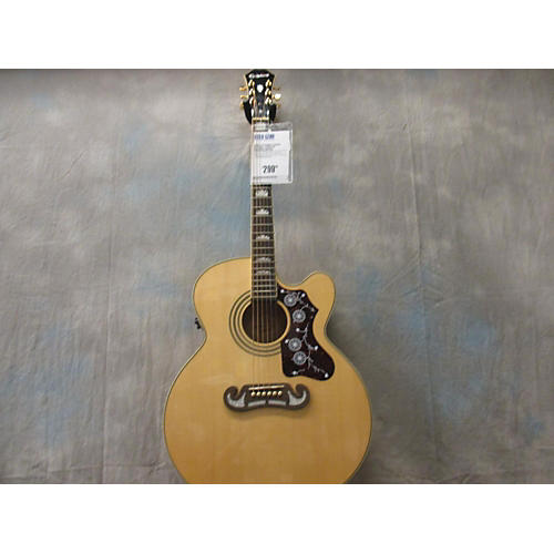 Epiphone EJ200CE Natural Acoustic Electric Guitar