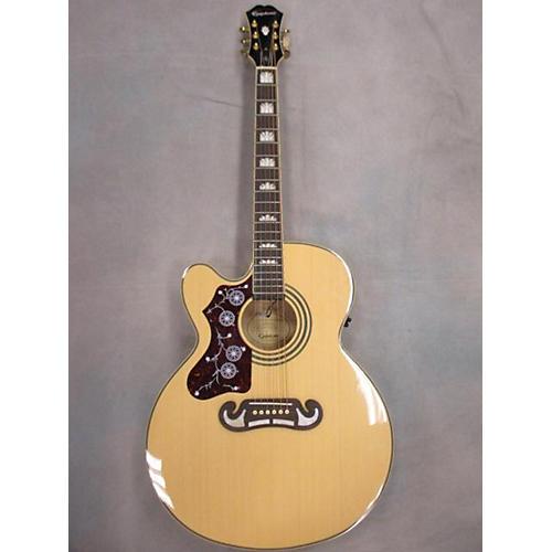 used epiphone ej200sce left handed acoustic electric guitar guitar center. Black Bedroom Furniture Sets. Home Design Ideas