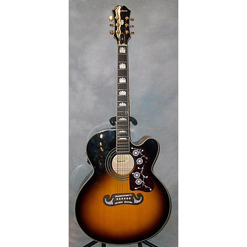 Epiphone EJ200SCE\VS Acoustic Electric Guitar