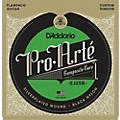 D'Addario EJ25B Pro-Arte Composites Flamenco Guitar Strings - Black Nylon thumbnail