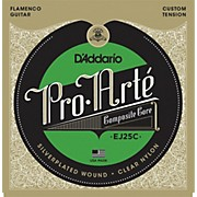 D'Addario EJ25C Pro-Arte Composites Flamenco Guitar Strings - Clear Nylon