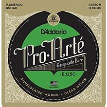D'Addario EJ25C Pro-Arte Composites Flamenco Guitar Strings - Clear Nylon
