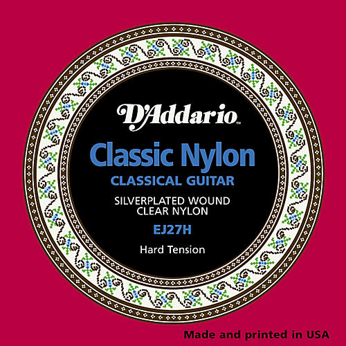 D'Addario EJ27H Classical Guitar Strings Hard Tension-thumbnail