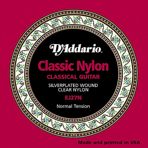 D'Addario EJ27N Normal Tension Classical Guitar Strings-thumbnail