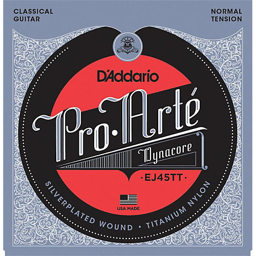 D'Addario EJ45TT ProArte DynaCore Normal Classical Guitar Strings-thumbnail