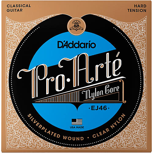 D'Addario EJ46 Pro-Arte Hard Tension Classical Guitar Strings-thumbnail