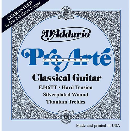 D'Addario EJ46TT ProArte DynaCore Hard Classical Guitar Strings-thumbnail