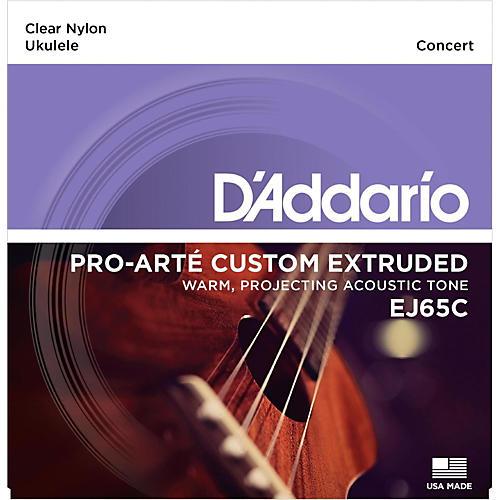 D'Addario EJ65C Pro-Arte Custom Extruded Concert Nylon Ukulele Strings-thumbnail