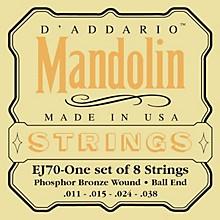 D'Addario EJ70 Phosphor Bronze Ball End Mandolin Strings