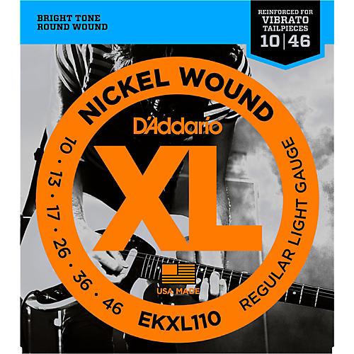 D'Addario EKXL110 Tremolo Electric Guitar Strings
