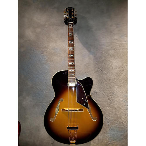 Carlo Robelli EL 500 Hollow Body Electric Guitar-thumbnail