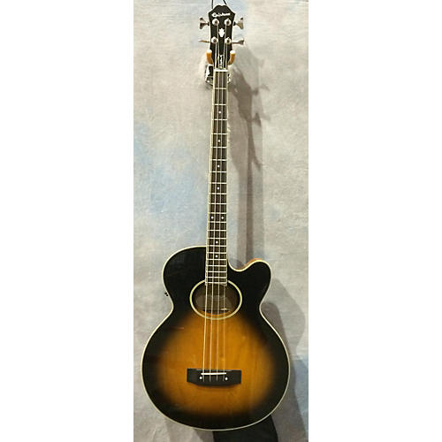 Epiphone EL CAP-4C/VS Acoustic Bass Guitar-thumbnail