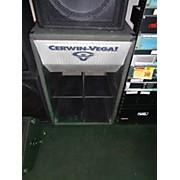 Cerwin-Vega EL36C 18in Folded Horn 1000W Unpowered Subwoofer