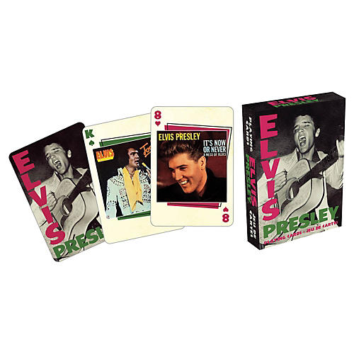 Hal Leonard ELVIS COVERS PLAYING CARD DECK
