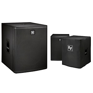 Electro-Voice ELX118 Live X Series Passive 18 inch Subwoofer and Cover Kit by Electro Voice
