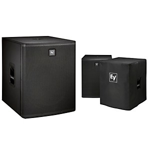 Electro-Voice ELX118P Active 18 inch Subwoofer and Cover Kit by Electro Voice