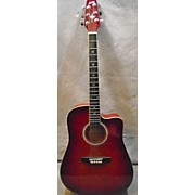 Montana EM105C CS Acoustic Electric Guitar