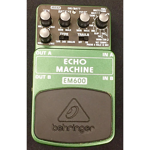 Behringer EM600 Echo Machine Echo Modeling Effect Pedal