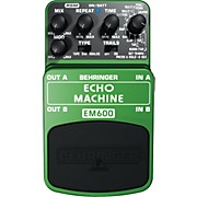 Behringer EM600 Echo Machine Echo Modeling Effects Pedal