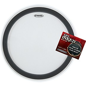evans emad 2 bass drumhead pack 22 with inked by evans gift card guitar center. Black Bedroom Furniture Sets. Home Design Ideas