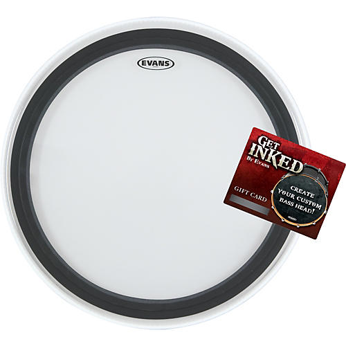 Evans EMAD 2 Bass Drumhead Pack 22