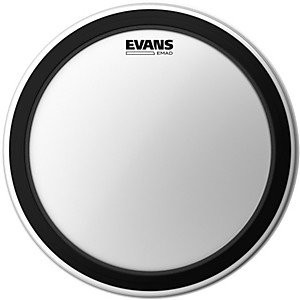 Evans EMAD Coated Bass Drum Batter Head by Evans