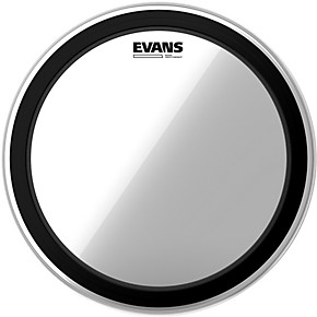 evans emad heavyweight clear batter bass drum head guitar center. Black Bedroom Furniture Sets. Home Design Ideas