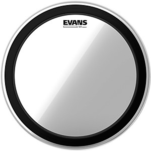 Evans EMAD Heavyweight Clear Batter Bass Drum Head by Evans