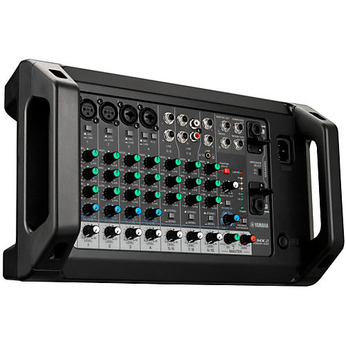 Yamaha emx2 10 input powered mixer with dual 250 watt amp for Yamaha power amp mixer