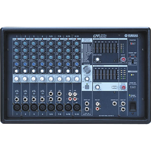 Yamaha EMX212S 12-Channel Powered Mixer
