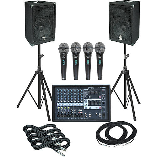 Yamaha EMX312SC-BR12 PA Package
