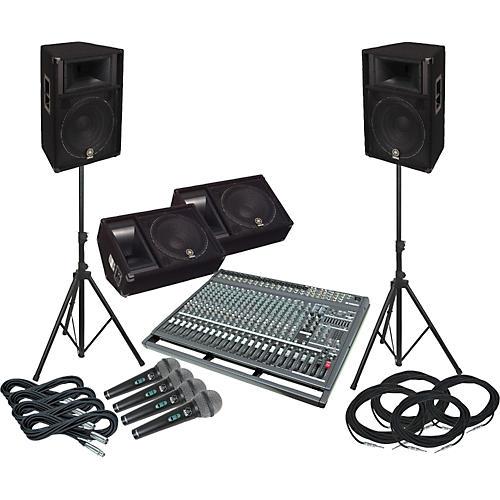 Yamaha EMX5000-20/S115V-M Complete PA & Monitor System-thumbnail