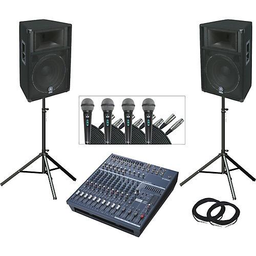 Yamaha EMX5014/S115V PA Package