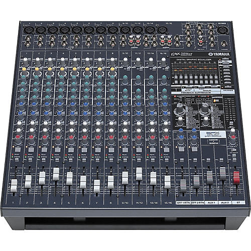 Yamaha EMX5016CF 16-Input Powered Mixer with Dual 500-Watt Power Amps-thumbnail