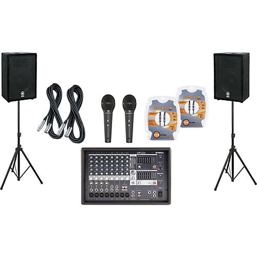 Yamaha EMX512SC / A12 PA Package