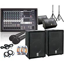 Yamaha EMX512SC/A12 /A12M Mains & Monitors PA Sys