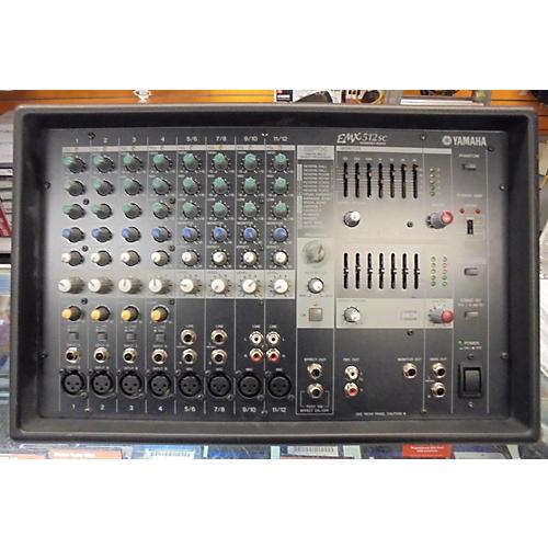 Used yamaha emx512sc powered mixer guitar center for Yamaha powered mixers